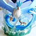 MODELO FÃS versão 17 cm pokemon Articuno IN-STOCK barato fabricado em pvc figure toy para Coleta