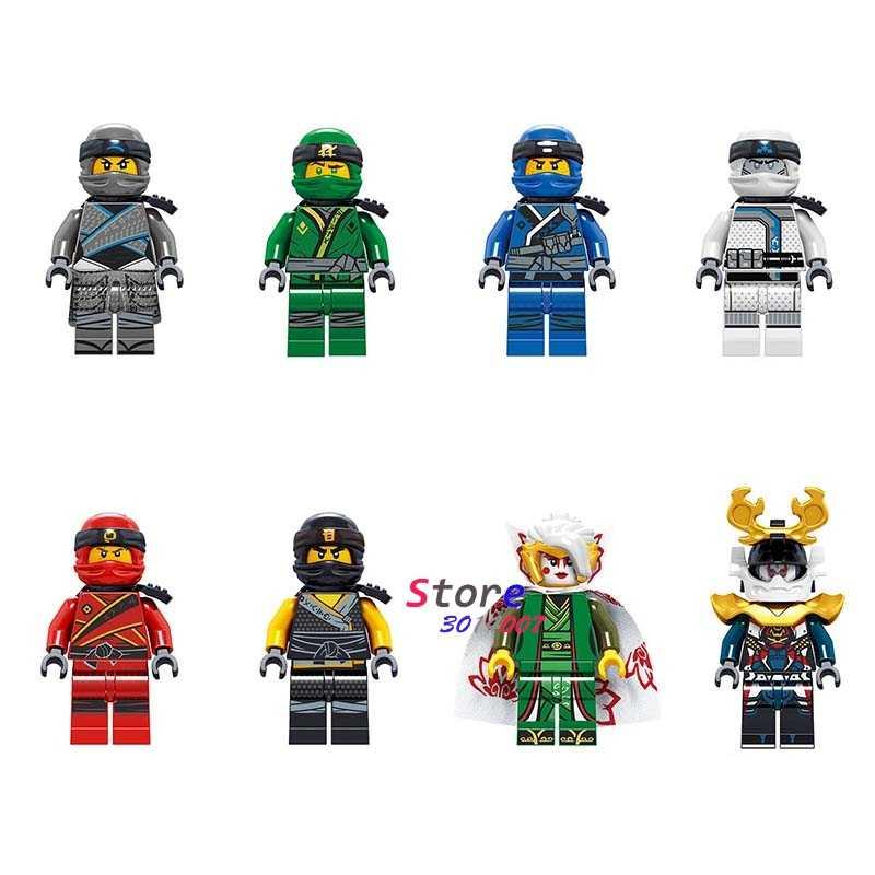 Один мастера Кружитцу фильм Ллойд Джей Zane и Kai Cole харуми самурая X конструкторных блоков, Детские кубики, игрушки для детей