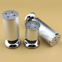 Stainless Steel Furniture Leg For Cabinet Sofa Coffee Table TV Cabinet 10CM High 4pcs