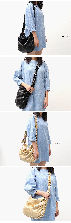 CEZIRA Big Soft Casual Women Bags Girl Wash PU Leather School Handbag Ladies Adjustable Woven Buckle Belt Messenger&Shoulder Bag 6