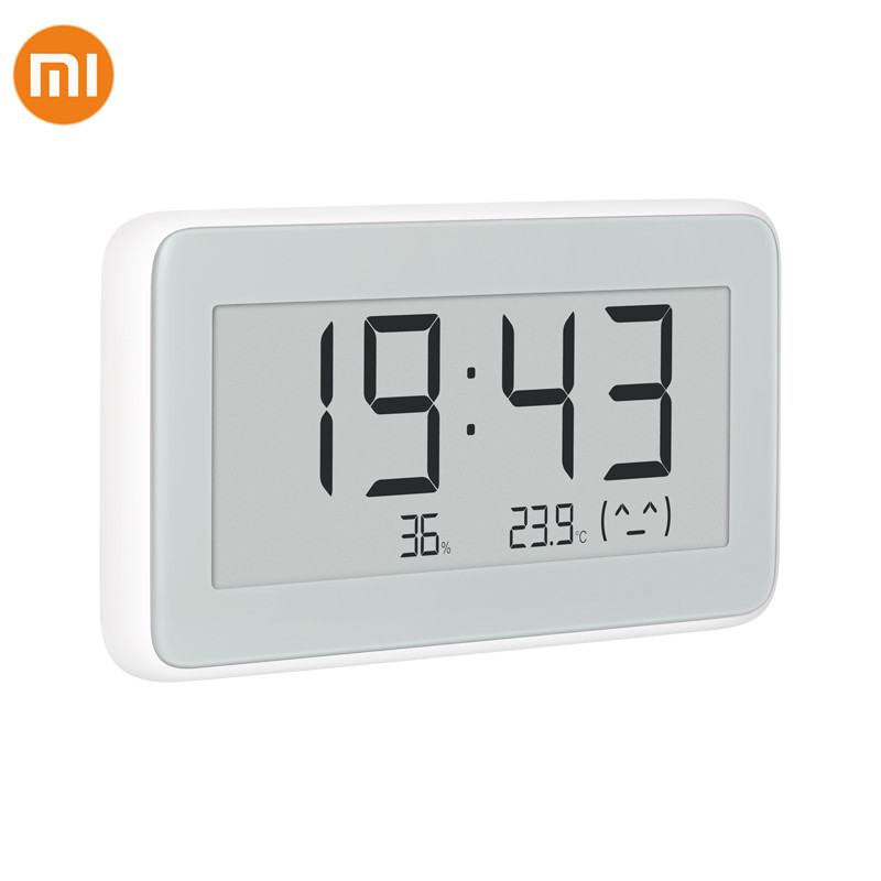 2019 Xiaomi Mijia Bluetooth Temperature Humidity Sensor E-link LCD Screen Digital Thermometer Moisture Smart Linkage Mi APP