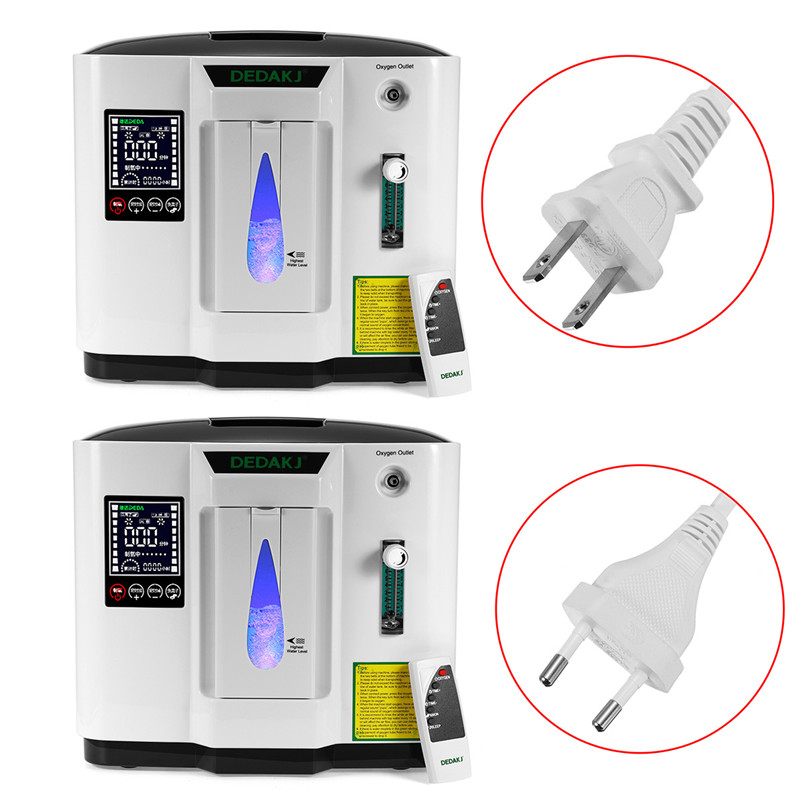 DDT-1A 110V US/220V EU 120W 30-90LED Display Touch' Screen Oxygen Concentration Oxygen Concentrator Portable System-board Oxyge medical oxygen concentrator for respiratory diseases 110v 220v oxygen generator copd oxygen supplying machine