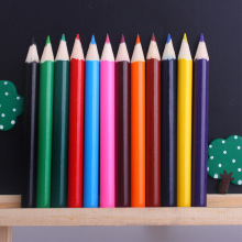 12 colors colour pencil short size for kids and children freeshipping on sale pieces a pack