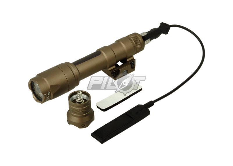 ELEMENT SF M600C Scout Light LED Weaponlight (TAN) FREE SHIPPING(ePacket/HongKong Post Air Mail) element sf m300 mini scout light black m300a led mini scout flashlight free shipping epacket hongkong post air mail