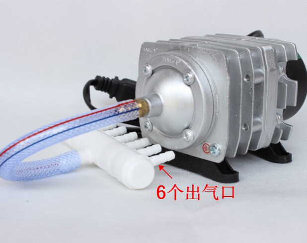 Free shipping Hailea ACO 308 Electromagnetic Aquarium Air Compressor Pump 55L min 220V 30W 0 025