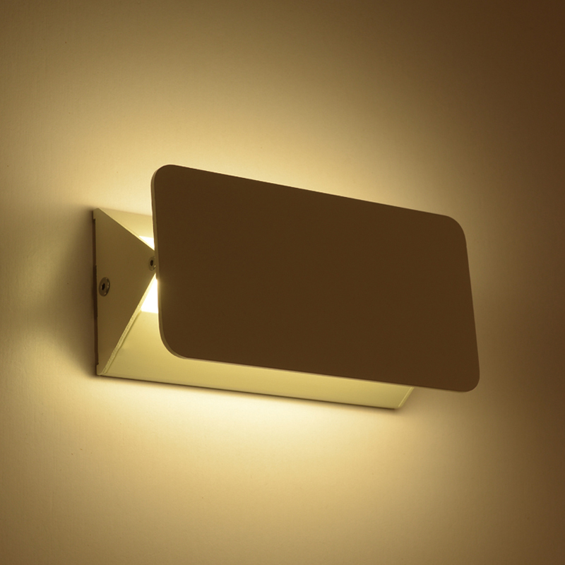 Lâmpadas de Parede rotativo luz conduzida da parede, Material do Corpo : Alumínio