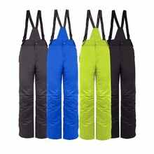 2016 Men Winter Waterproof Windproof Ski Suit Rompers Women Snow Skiing Snowboarding Warm Snowboard Pants Trousers Overalls