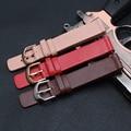 16mm para huawei b3 motorola moto 360 generation cinta genuína cinto pulseira de couro relógios de pulso