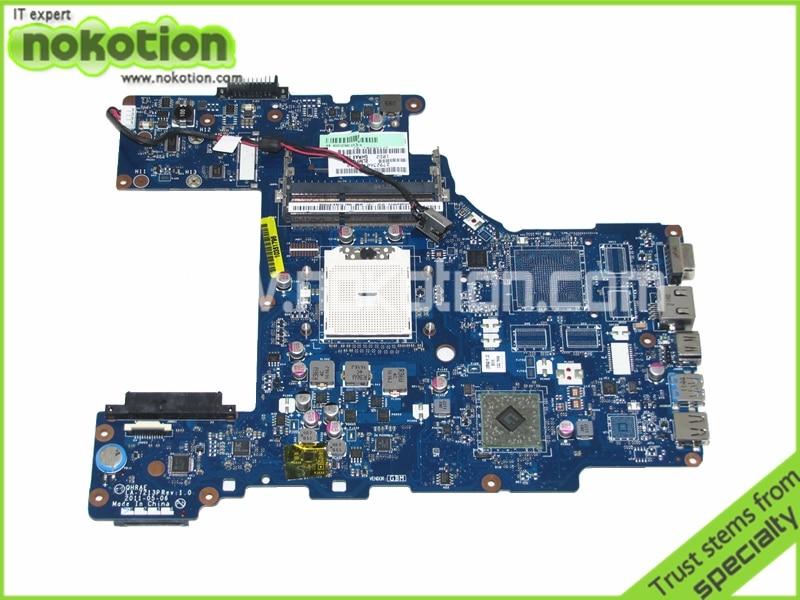 NOKOTION K000127660 QHRAE LA-7213P Rev 1.0 laptop motherboard for toshiba P775D DDR3 Mianboard warranty 60 days nokotion warranty 60 days a000073410 laptop motherboard for toshiba satellite l645d socket s1 ddr3 31te3mb0040 da0te3mb6c0