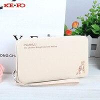Women Wallet Purse Long Design Wallet Case Universal Cover For Samsung Galaxy J1 J3 J5 J7