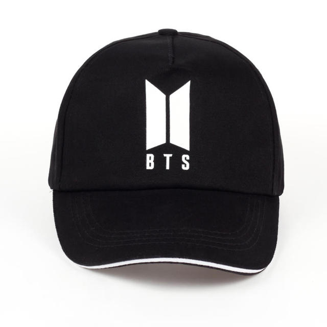 6b22b6ca1 US $4.96 17% OFF|2017 new Mens Snapback Hats BTS print Fashion cap Hats  Adjustable Baseball Cap Bulletproof Young Age Group SUGA Airport Hat-in ...