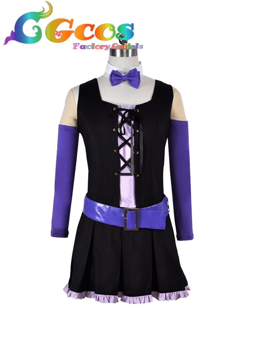 Cgcos Бесплатная доставка Косплэй костюм show рок! Chuchu равномерное платье новое в наличии Розничная/оптовая продажа Хэллоуин для рождественско...