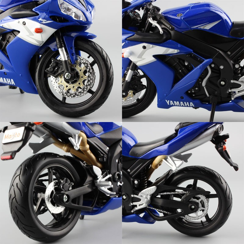 Yamaha Supercross YZF R1 Model Toy Motorcycle 10