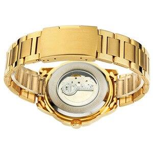 Image 5 - Eyki marque métal creux volant mécanique montres mode Fine luxe en acier inoxydable bracelet de montre hommes athlétique montres bijoux