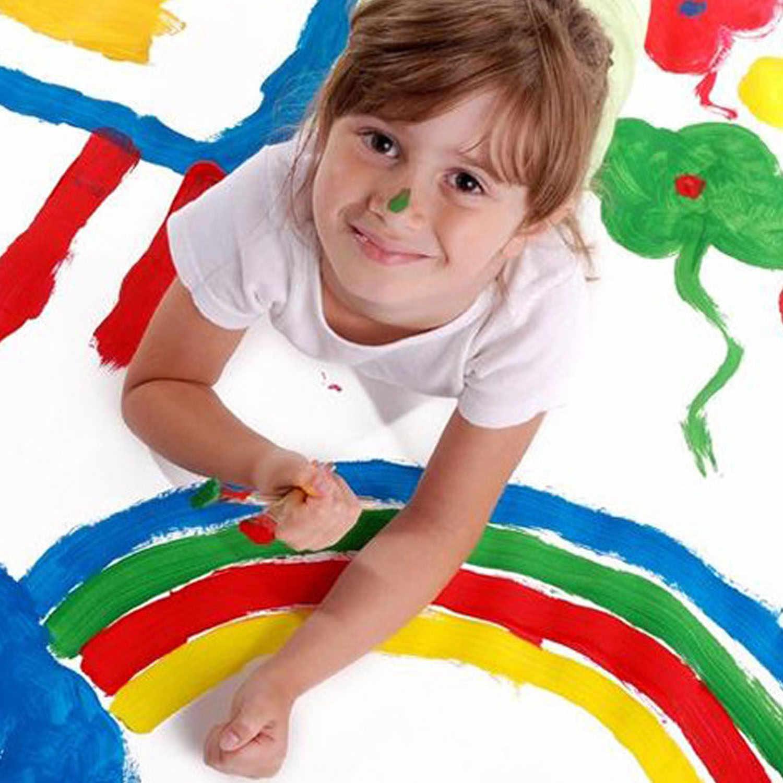 Дети 8 шт. 4 размера деревянная ручка пены граффити Губка кисти Набор DIY живопись инструменты рисования для живопись графика Книги по искусству ремесло питания