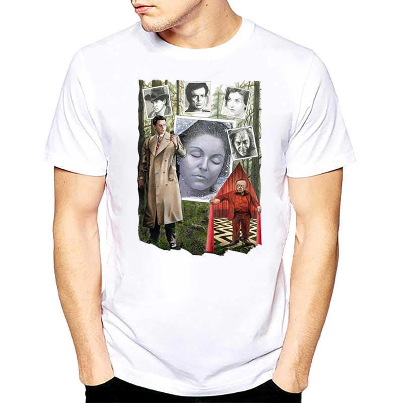 Camiseta Retro con estampado de Twin Peaks para hombre, camisetas con estampado de Fuego camina conmigo de Laura Atlantis