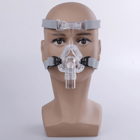NM2 Nasal Mask Ventilator Mask Sleep Mask With Headgear Suitable For CPAP Machine Connect Hose And Nose S/M/L Different Size