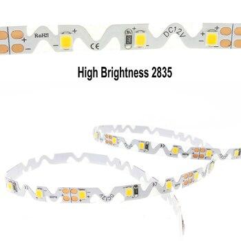 12 V S Shape LED Strip Light Tape 2835 Flexible LED Light Strip Lamp Warm White Light 60LED/m 5m Bending Channel Letter S Type сэмюэль беккет krapp s last tape