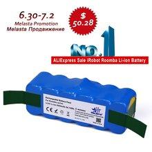 6.4Ah 14.8 В литий-ионный аккумулятор для IROBOT Roomba 500 600 700 800 Series 510 530 531 532 550 585 561 620 630 650 760 770 780 870 880