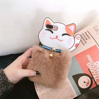 New Design Whisker Soft Silicone 3D Mobile Phone Shell For IPhoneX 8 8PLus 7 7Plus 6