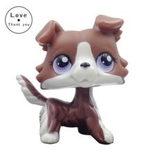 pet dog COLLIE #puzzlc  pet Figure Girl Collie Dog