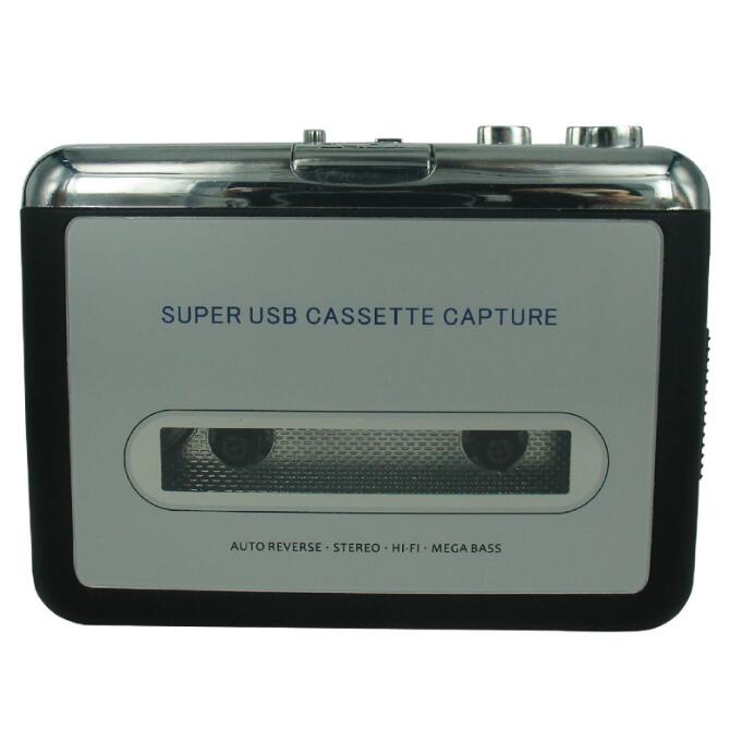 kassetteafspiller USB-kassette til MP3-konverter Capture Audio Music Player Konverter musik på bånd til Computer Laptop Mac OS CREZ218