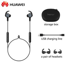 Original huawei honor am61 xsport fone de ouvido sem fio com design magnético ip55 proteção de nível bluetooth 4.1 fone de ouvido mão-livre