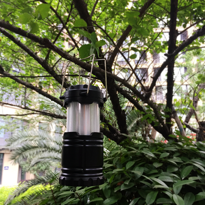 Outdoor Lantern Lamp 48 LED Light Super Bright Camping Garden Torch w Handle NEW
