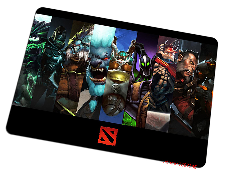 cool dota 2 mouse pad hot sales large pad to mouse computer mousepad dota2 heros gaming mouse mats to mouse gamer