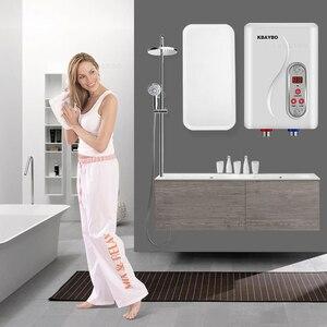 Image 2 - 7000 3000w インスタント電気タンクレス給湯器瞬時水ヒーターインスタント電気温水高速 3 秒ホットシャワー