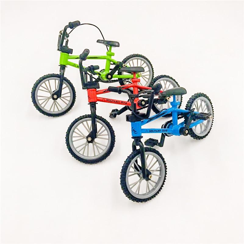 Mountain Finger Bike Fixie Bicycle Boy Toy DIY Creative Game+skateboard US Stock