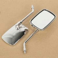 Motorcycle accessories Side Rear Mirrors For YAMAHA XV1100 XVS1300 DS400 XVS400 XV1900 1700 Free Shipping! 3