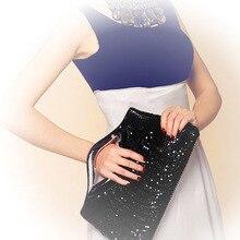 Fashion Women Clutch Lip Paillette Sequins  Handbag Evening Bag Party Wedding Banquet 5 colors High Quality 35