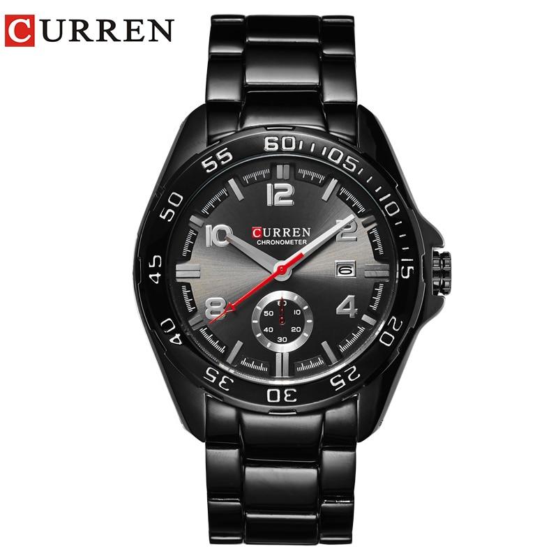 CURREN kalender Display Mutiple Dials Wrist Quartz Watch för Man - Herrklockor
