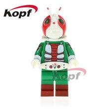 Única Venda Super Heroes Figuras Kamen Rider Masked Rider V3 Modelo PG1170 No. 2 Bricks Blocos Crianças Brinquedos de Presente