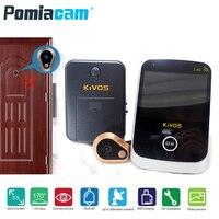 KDB307A Doorbell Door Eye Peephole Wireless Door Viewer 2.4GHz Video Doorbell Camera Monitor for Home Apartment Doorway security