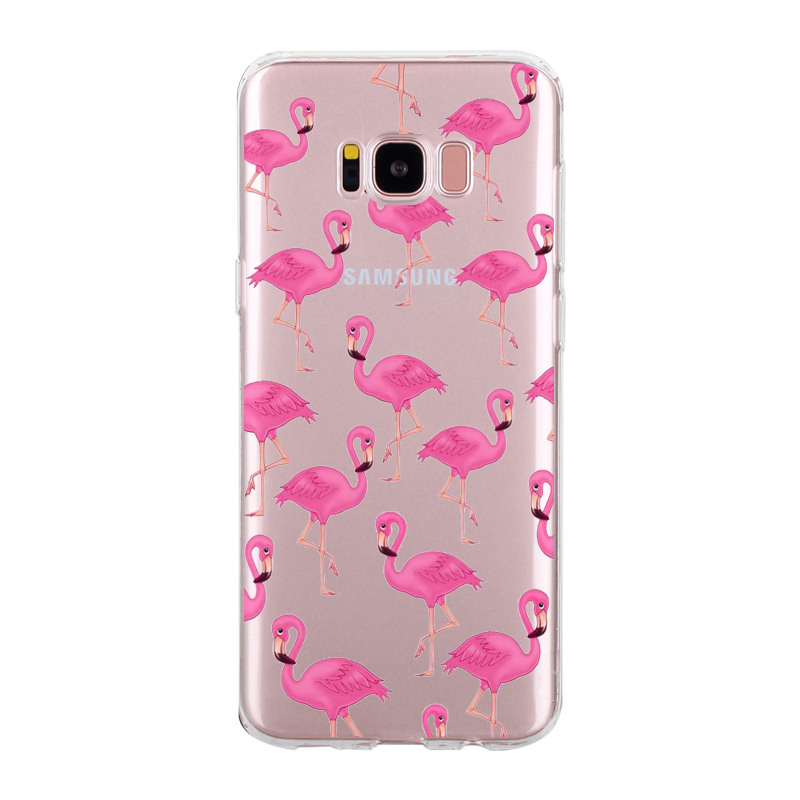 samsung s6 flamingo phone case