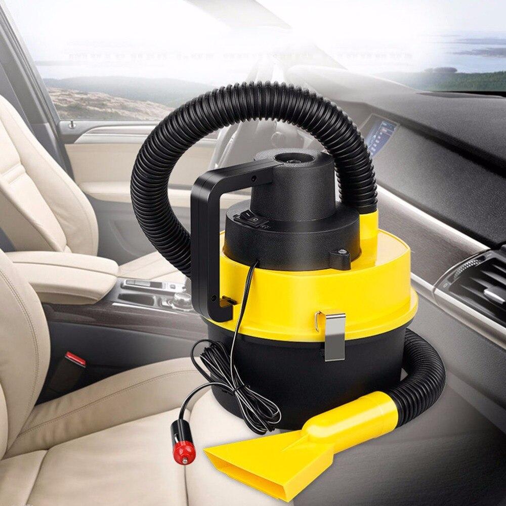 12v 120w 4l Capacity Car Interior Vacuum Cleaner Wet And