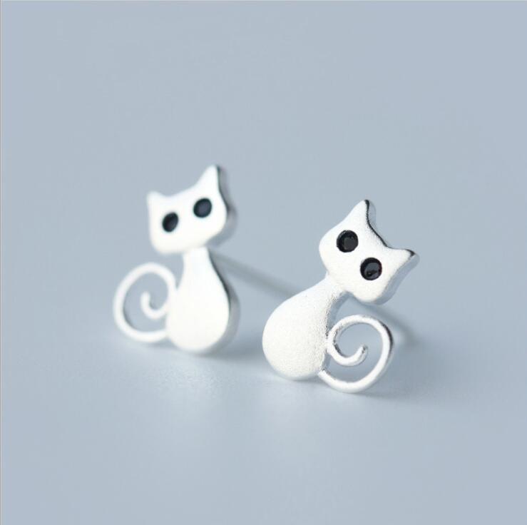Jisensp Veshjet e Bizhuterive për Gratë Brinco Cat Cute Animal - Bizhuteri të modës