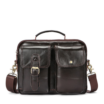 Genuine Leather Bag Men Briefcase Business Handbag Laptop Computer Bag Office Bags For Men Messenger Bag Maleta Bolso Hombre hongyandaishu men business briefcase genuine leather casual computer laptop handbag bag fashion men s travel bags maletin hombre