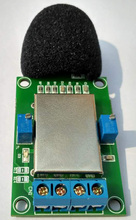 Cantidad análoga de medición instrumento 4 20mA ruido sensor de 0 5 V 0 v 10 V nivel medidor de decibelios ruido transmisores