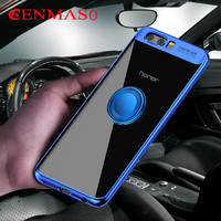 Soft TPU Case For Huawei Honor 9 Cases Ultra Thin Transparent Plating Shining Case Honor 9
