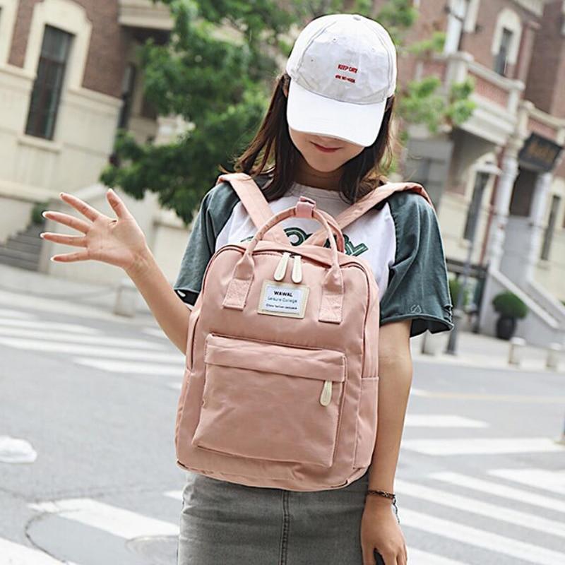 HTB1VVBXKruWBuNjSszgq6z8jVXaj Yogodlns Campus Women Backpack School Bag for Teenagers College Canvas Female Bagpack 15inch Laptop Back Packs Bolsas Mochila