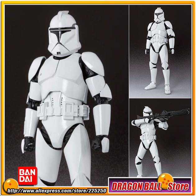 Star Wars Episode II: Attack of Clones Original BANDAI Tamashii Nations S.H.Figuarts/SHF Action Figure - Clone Trooper Phase1