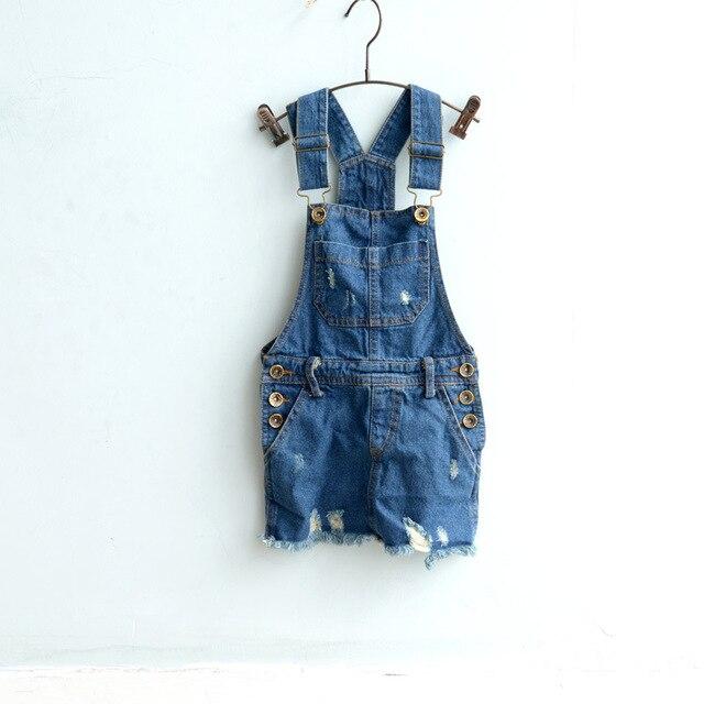 66a7d040e0  D-11 Baby Girls Kids Denim Overalls Skirts Braces Skirt 2-6YUK suspender  skirt overalls Children Clothing