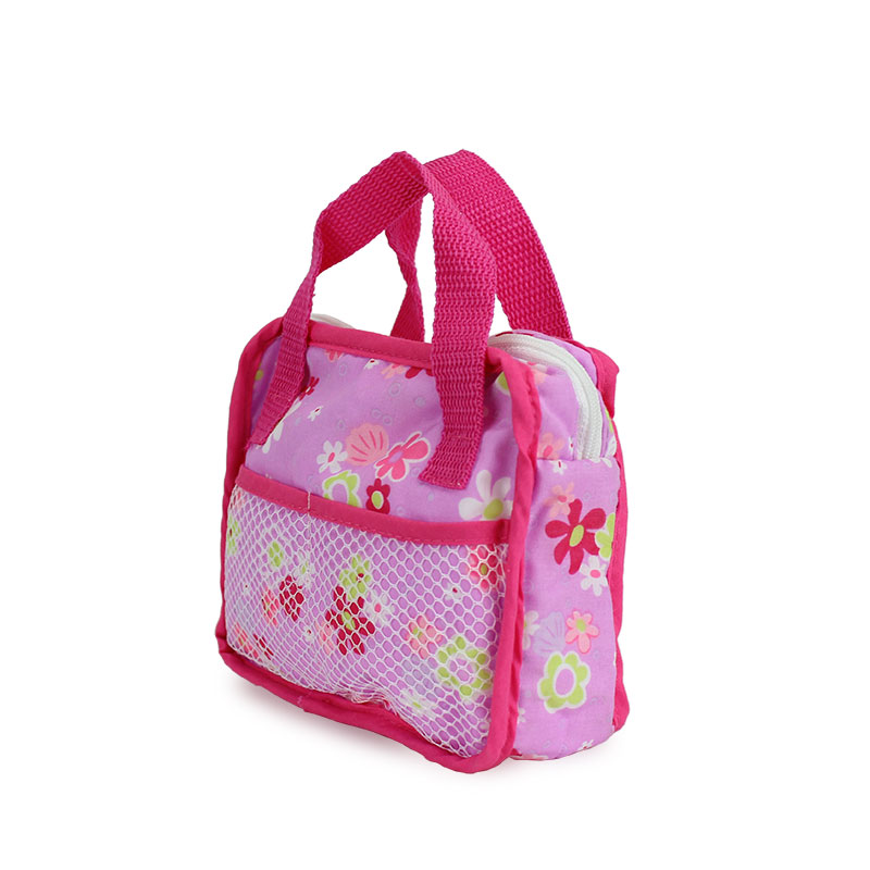 7color Choose Cloth Doll Accessories Handbag Wear Fit  For 43cm/17inch Baby Doll(only Sell Bag)