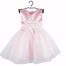 BBWOWLIN Pink Baby Girls Dress for 0 2 Years Toddler Girl Clothes Birthday Party Costumes Flower