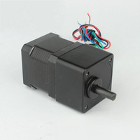 42mm*34mm NEMA17 HSG Eccentric Gear Reducer Stepper Motor 1.33A 4wires 2.6kg.cm Common Gearbox Stepping Motor with factory price