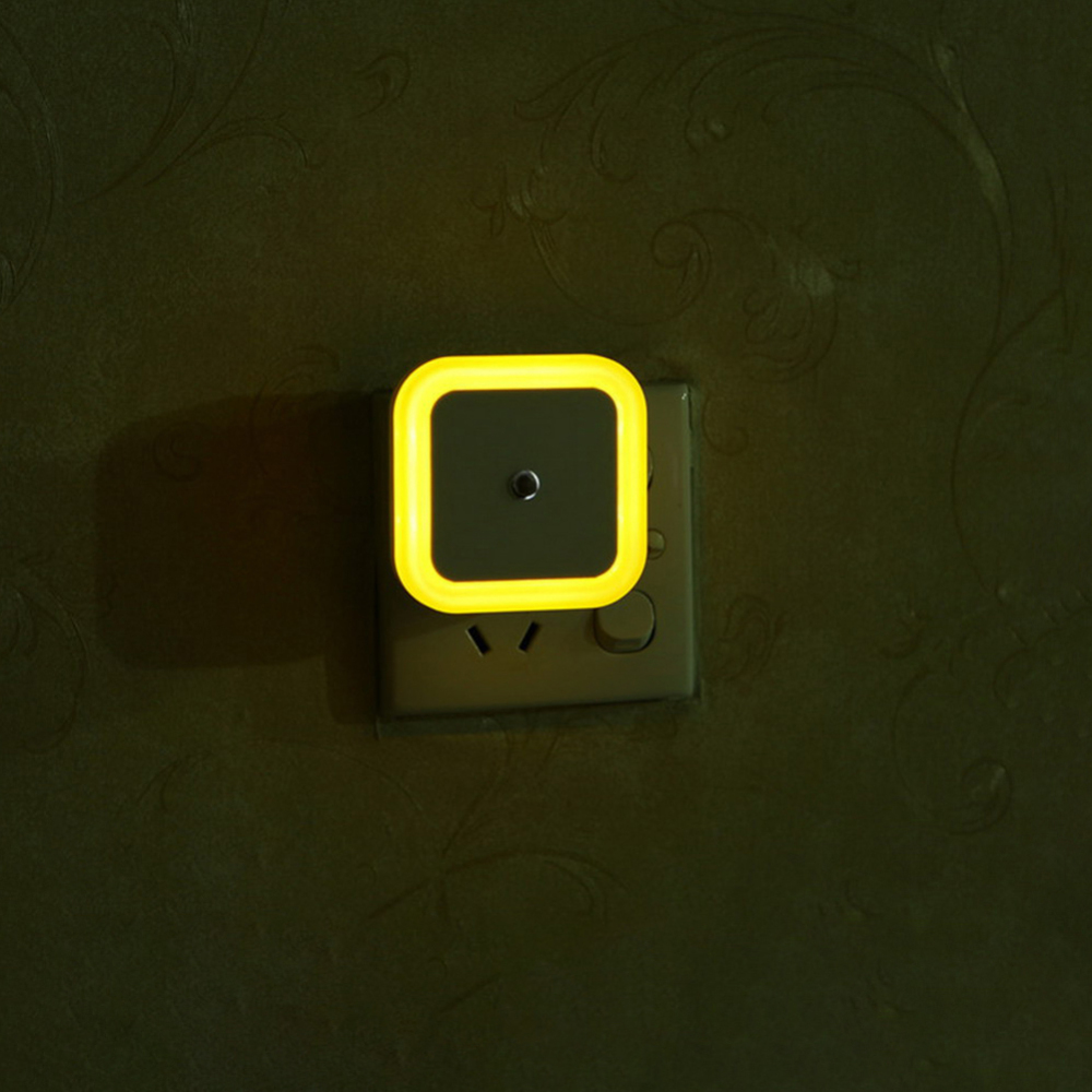Baby Room Bedroom Night Light Sensor Control Sleeping LED Night Light Mini Energy Saving Night Lamp