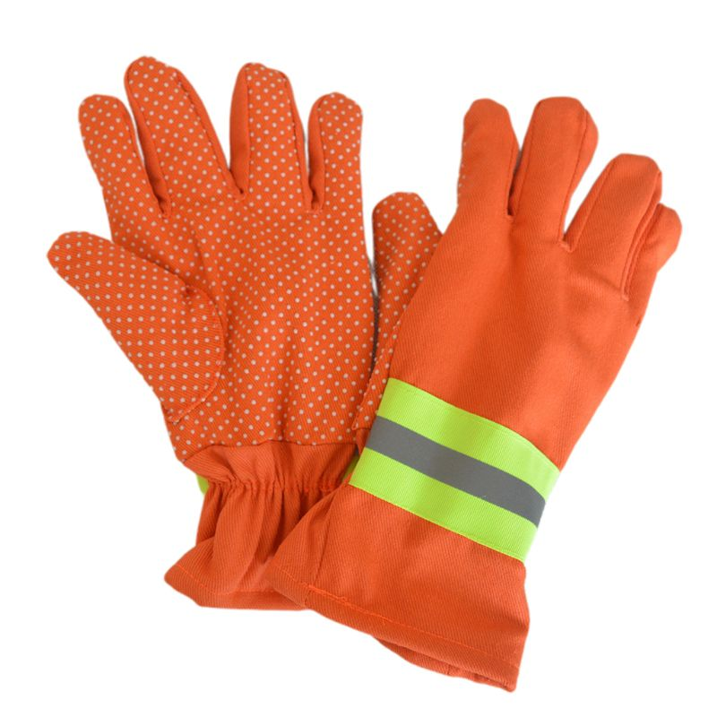 Free Shipping 2Pcs/Pair Fire Protective Gloves Fire Proof Heat Proof Waterproof Handling